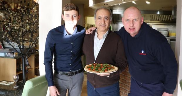 Pizza by Goli promo shoot